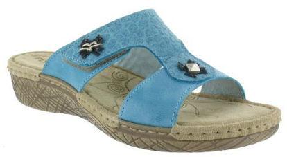 Obrázok z Zdravotní obuv dámská FLY FLOT barva tyrkys