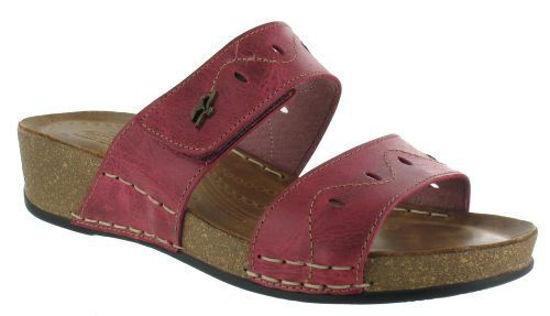 Obrázek Zdravotní obuv dámská FLY FLOT Bio-style - vin.červ.