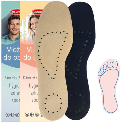 Picture of Insoles GEL ANATOMIC SUEDE