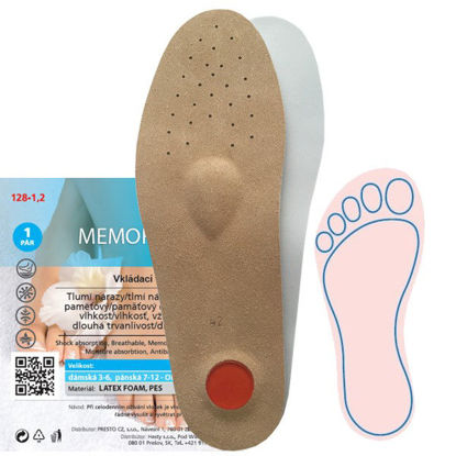 Picture of Insoles MEMORY ORTHO