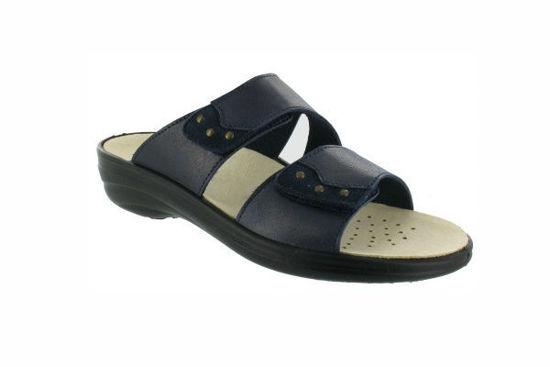 Obrázok z Zdravotní obuv dámská FLY FLOT pásková barva modrá