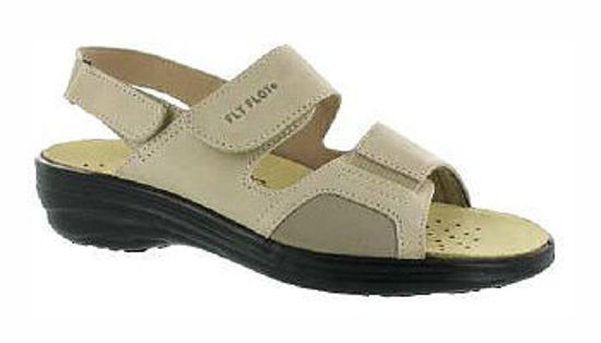 Obrázok z Zdravotní obuv dámská FLY FLOT Hallux barva béžová