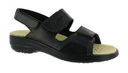 Picture of Zdravotní obuv dámská FLY FLOT Hallux barva černá