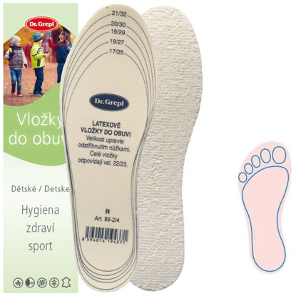 Picture of Insoles TERRY CLOTH CHILDREN CUT-OFF