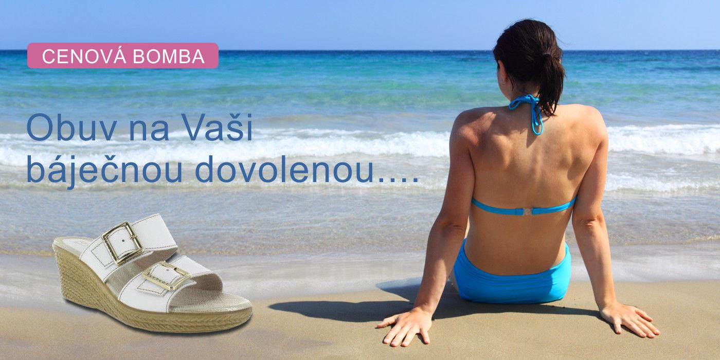 Obuv na Vaši báječnou dovolenou