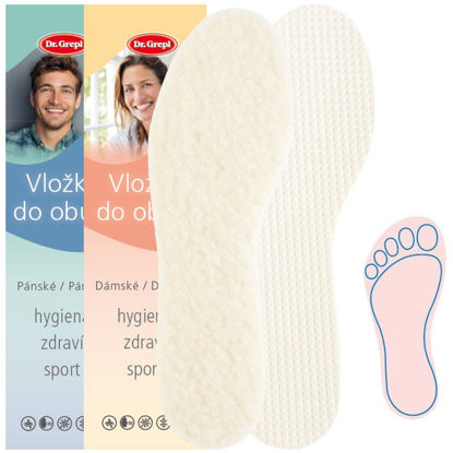Picture of Insoles WOOL FLEECE