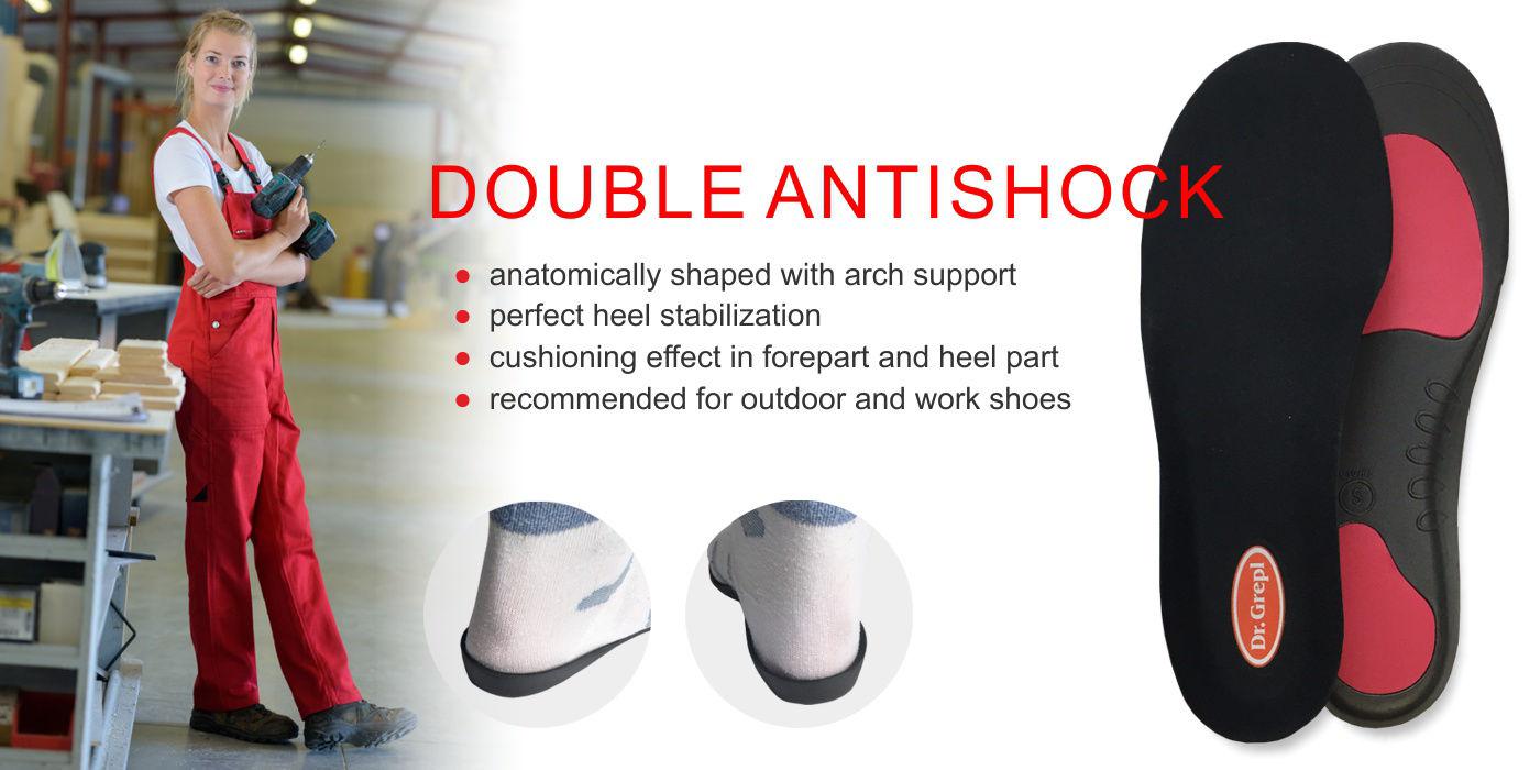 Double antishock