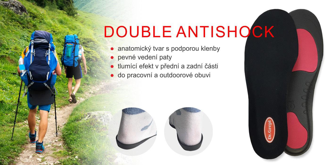 Vložky double antishock
